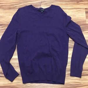 Marc Anthony Men's Medium Purple Sweater